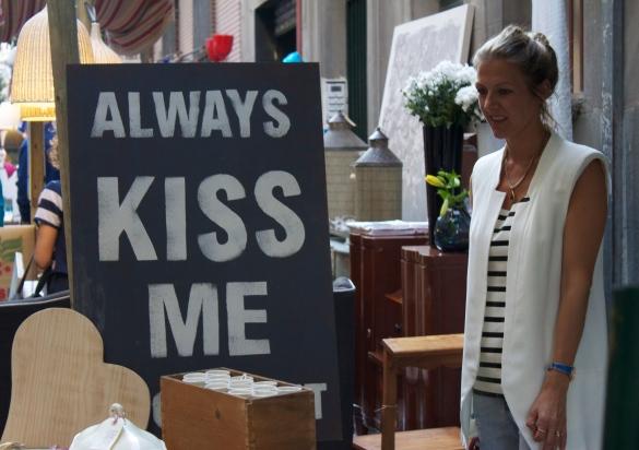 feria deco callejera las letras kiss