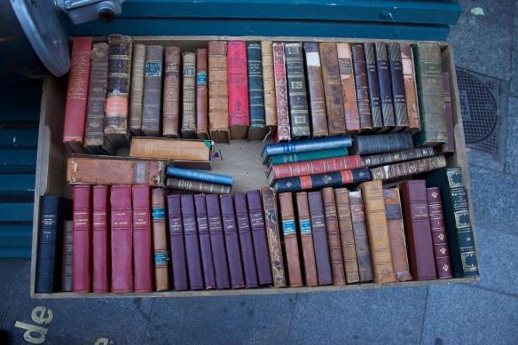 feria deco callejera las letras  libros